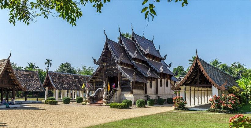 Север тайланда города