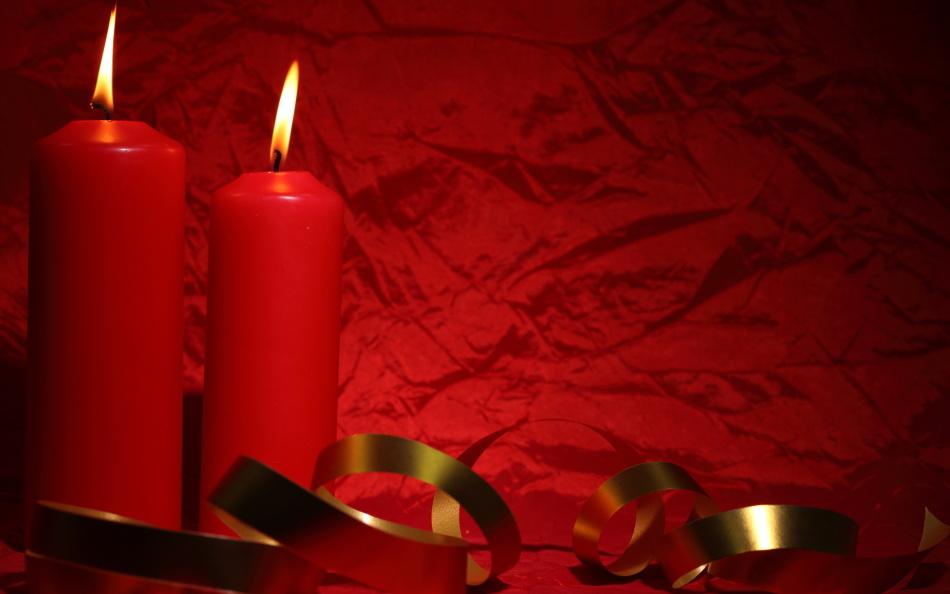 Красные свечи для пылкой мужской любви