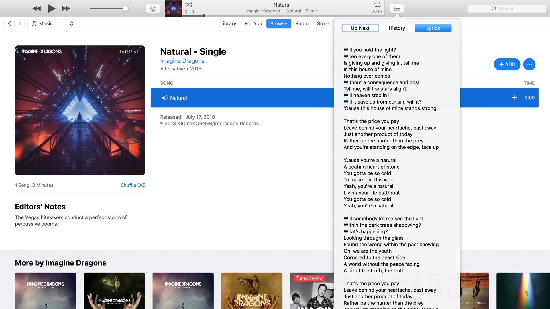 You can read lyrics for any song in Apple Music.