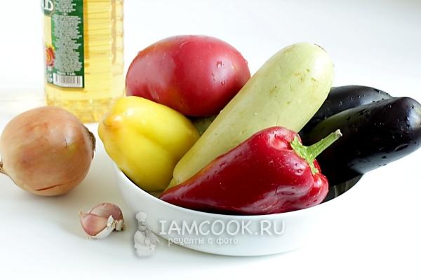 Икра из баклажанов и кабачков рецепт с фото