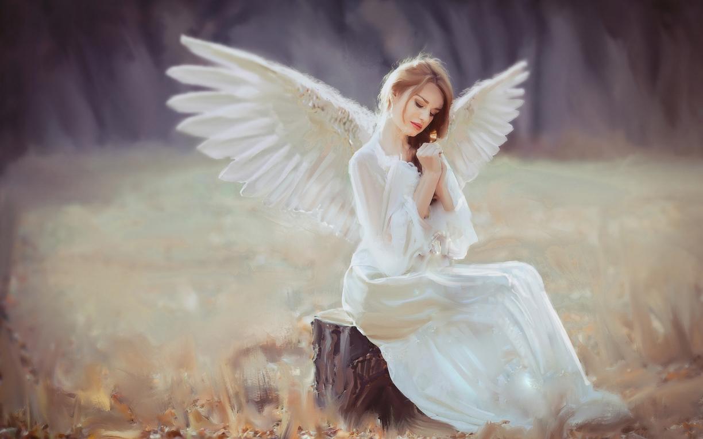 К чему снится ангел на небе