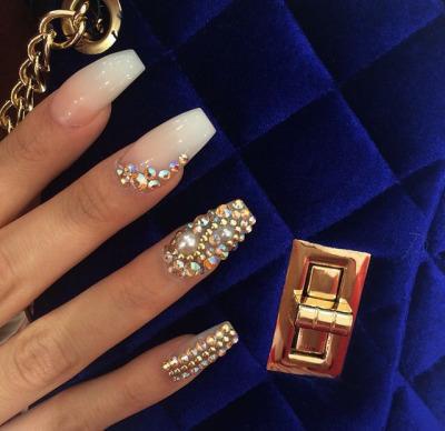 Diamond nails tumblr