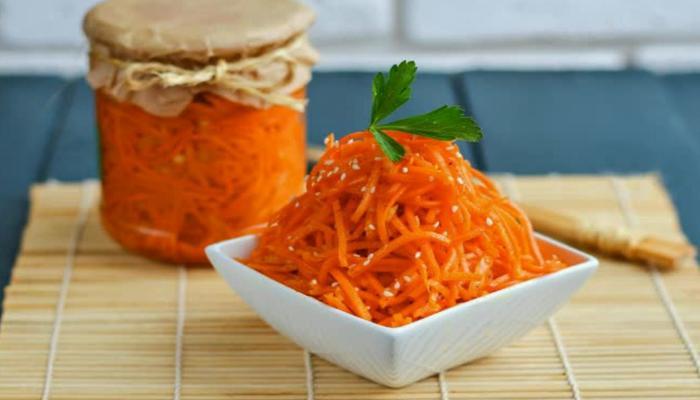 Морковка по корейски на зиму рецепт