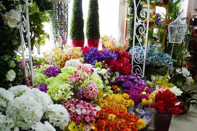 Бизнес искусственные цветы
