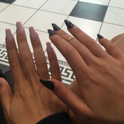 Gel nails on tumblr