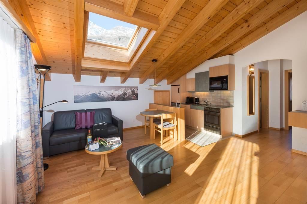 2-Zimmer-Dachwohnung