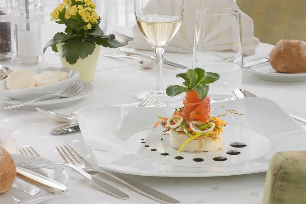 Genussvolle Küche und tolles Halbpensions Menü