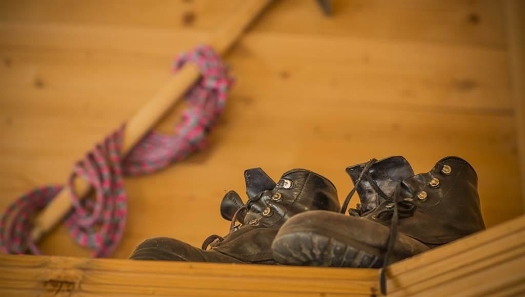 unterwegs mit Seil, Pickel und gutem Schuhwerk
