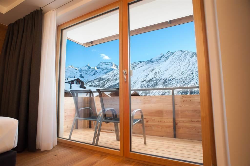 Schlafzimmer Balkon & Ausblick