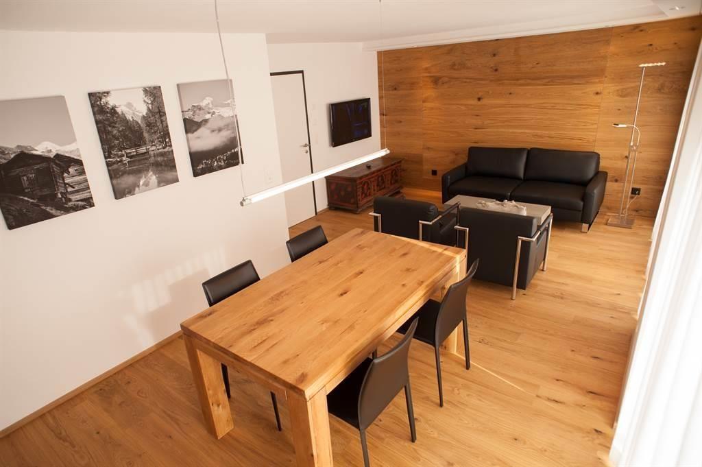 Wohnraum mit Flatscreen