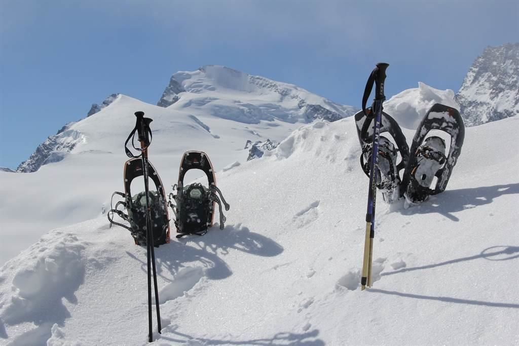 Schneeschuh-Saas-Fee
