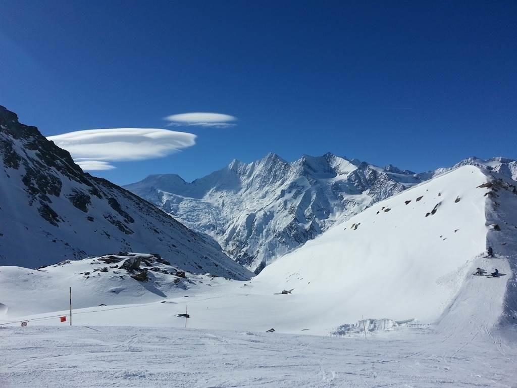Gletscherskigebiet Hohsaas
