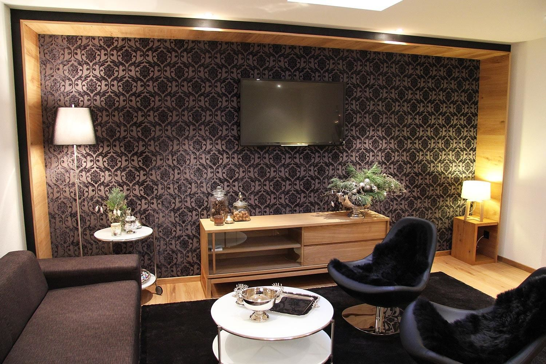 Burgener Haus   Saas-Grund   Lounge