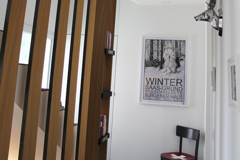 Burgener Haus | Saas-Grund | Treppenhaus