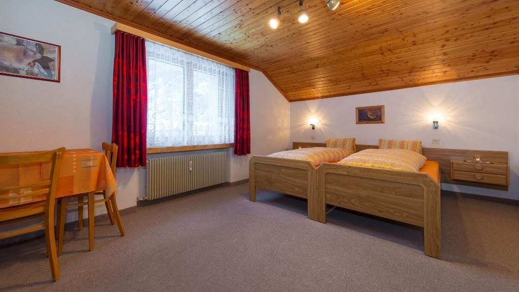 Schlafzimmer. Vallesia