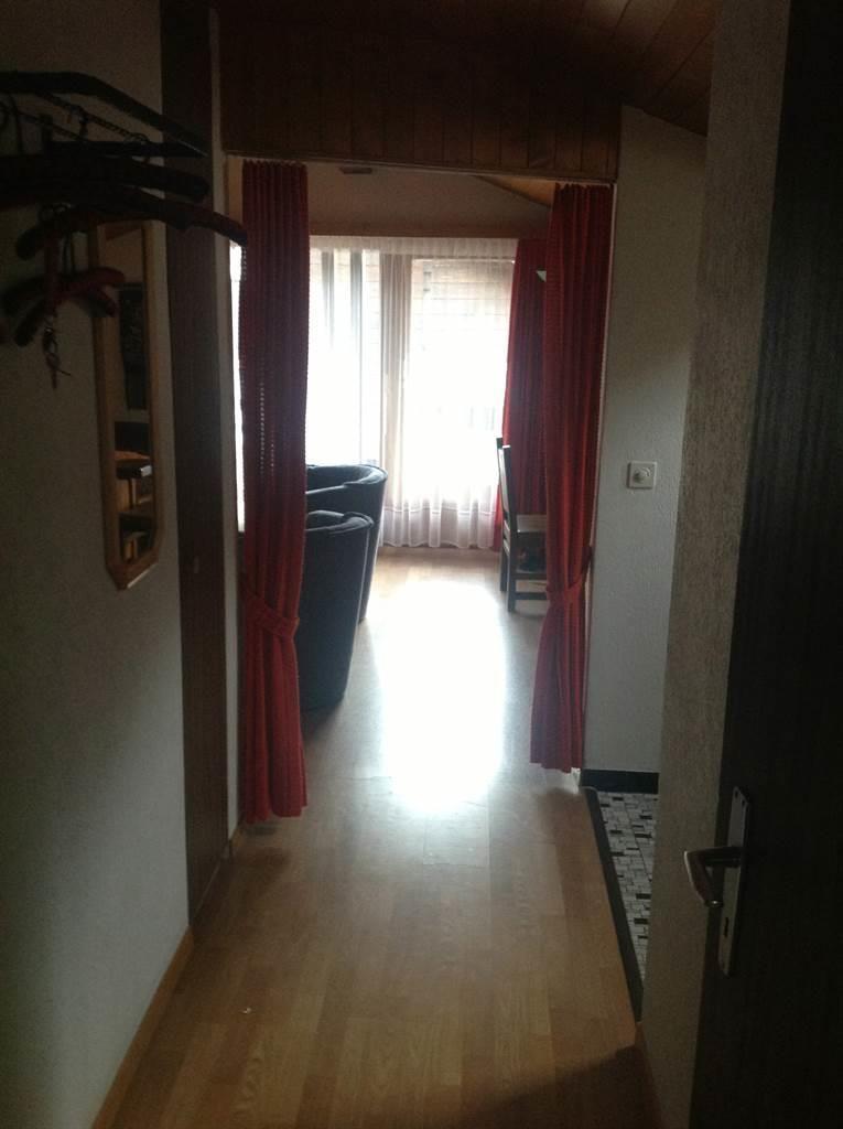 Korridor zum Wohnschlafzimmer