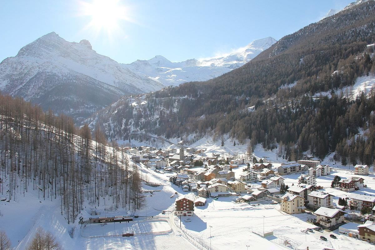 Saas-Grund Winter