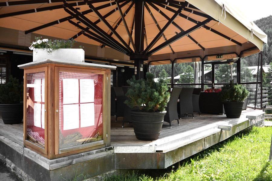 Terrasse Restaurant Skihütte