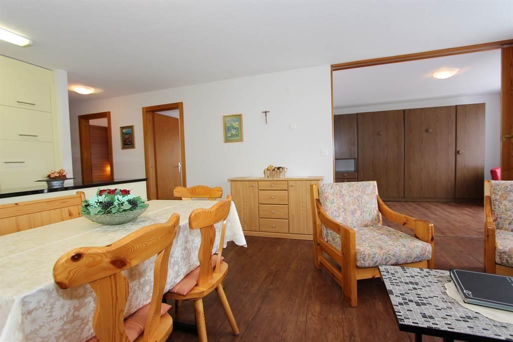 Wohnzimmer ohne Klappbett
