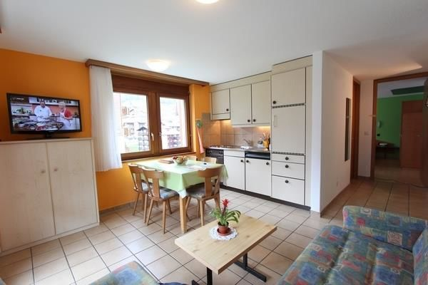 Wohnbereich und Küche