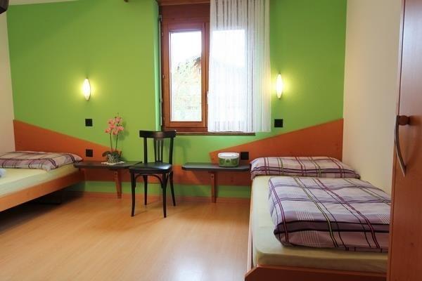Schlafzimmer 2 getrennte Betten
