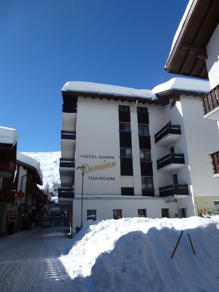 Hotel Domino im Winter