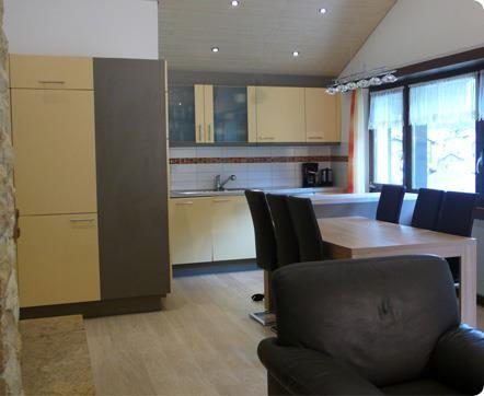 Küche und Essraum