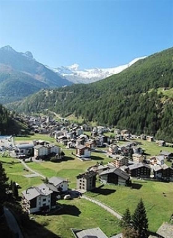 Dorf Saas-Grund