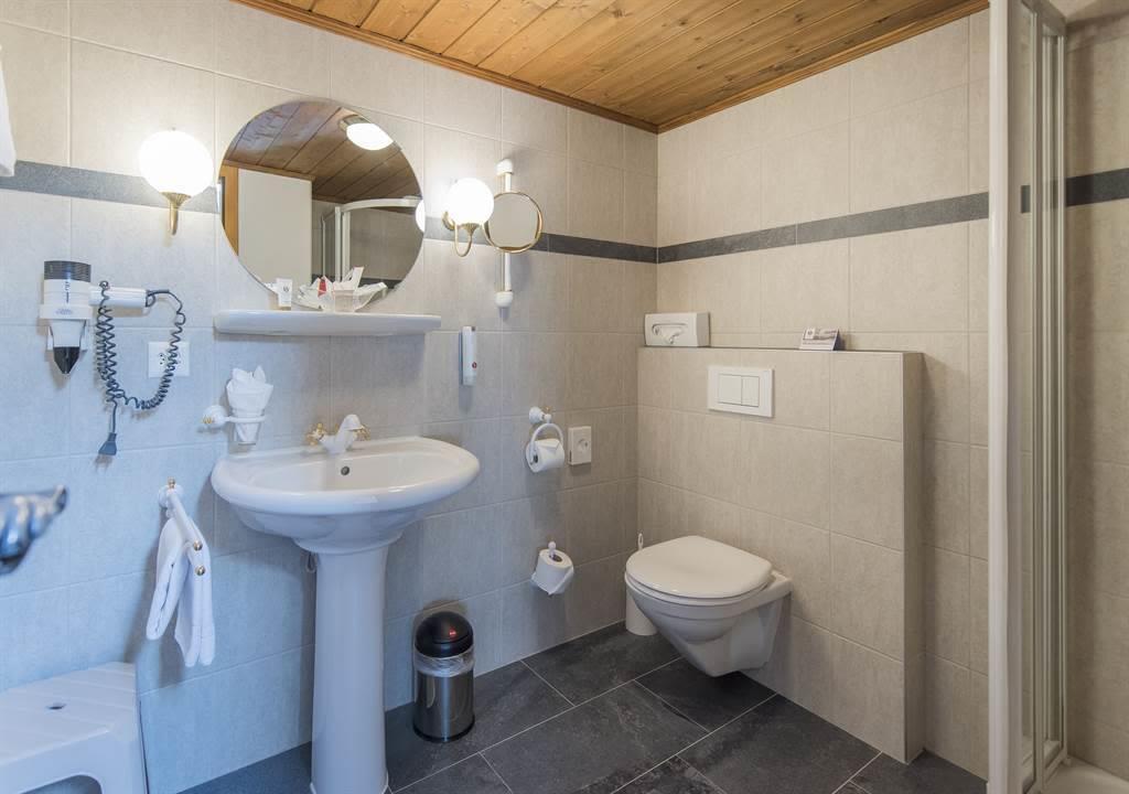 Einzelzimmer_Komfort_Bad_Sunstar Hotel Saas-Fee_Or