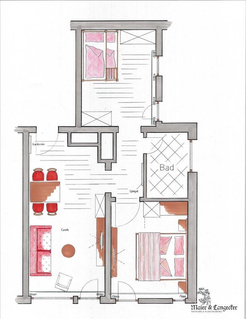 Panorama-Suite für 2 Erwachsene + 2 - 4 Kinder