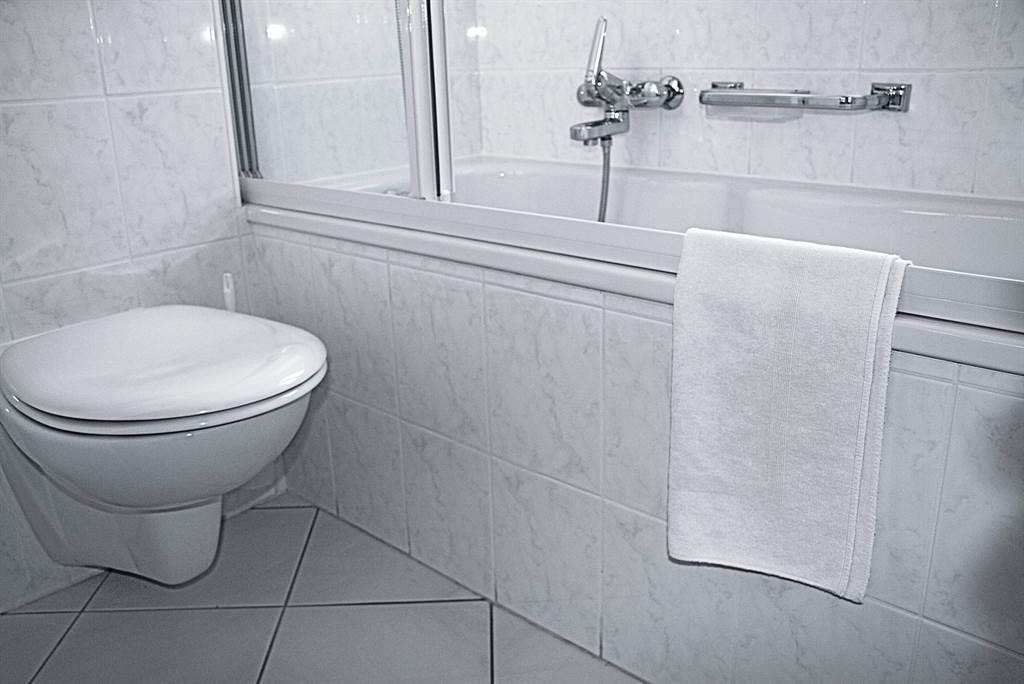 alle Einzelzimmer mit Badewanne