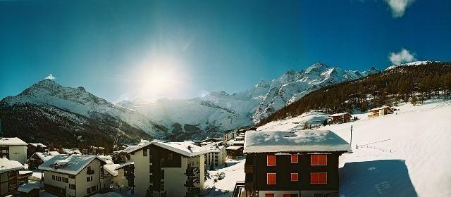 Panorama Winter Gletscher