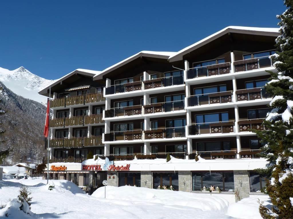 Hotel Kristall-Saphir im Winter