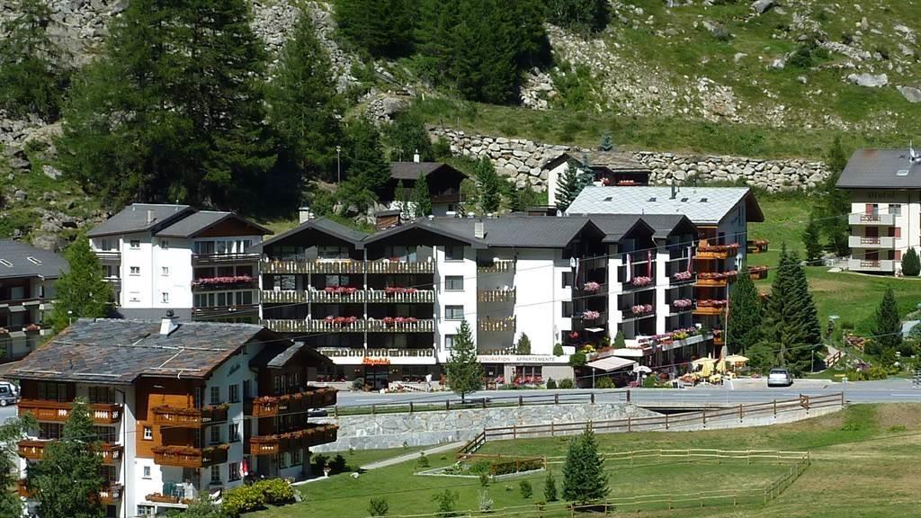 Hotelansicht von der Westseite