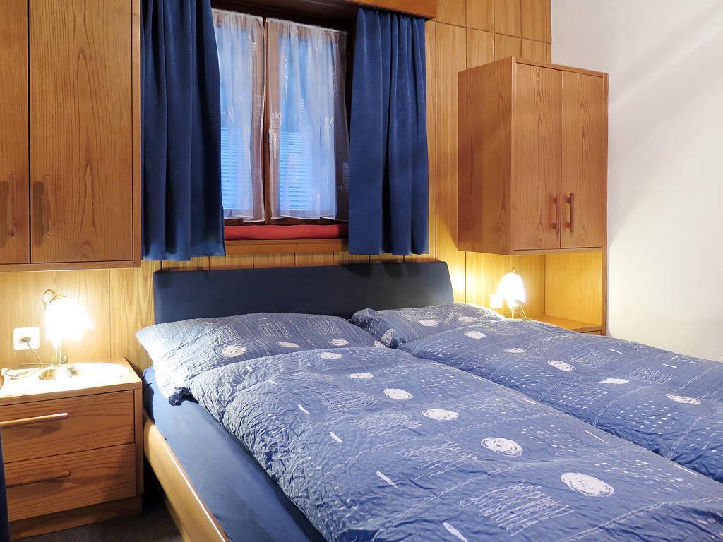 Haus Quelle Saas Grund 3 Zi-wohnung Schlafen
