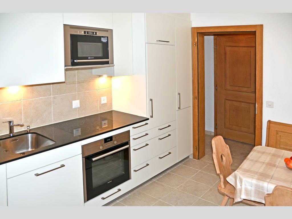 Haus Quelle Saas Grund 3 Zi-wohnung Kochen