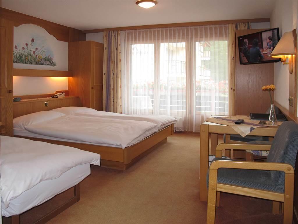 Dreibettzimmer Hotel Mattmarkblick