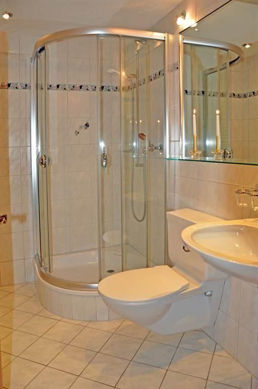 Dusche Doppelzimmer Mattmarkblick