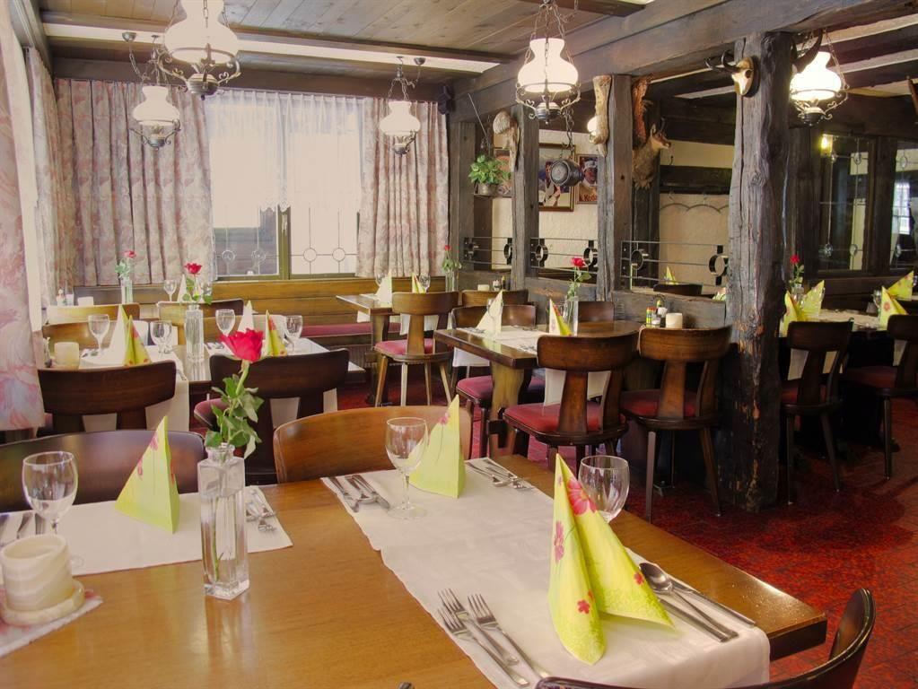 Rustikales Restaurant Mattmarkblick