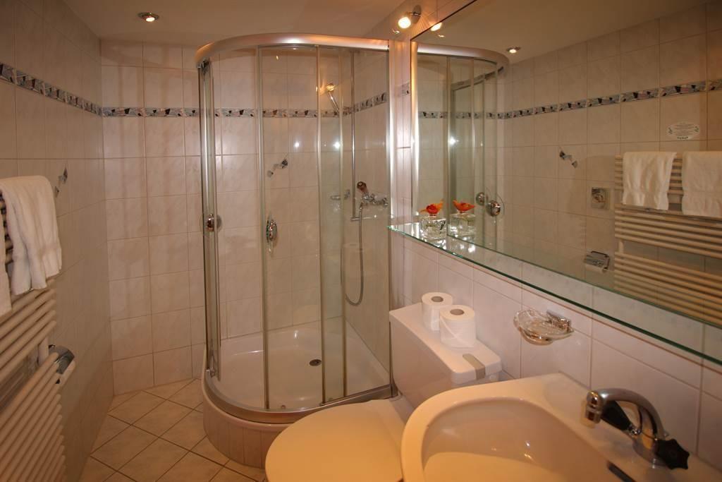 Badezimmer Hotel Mattmarkblick