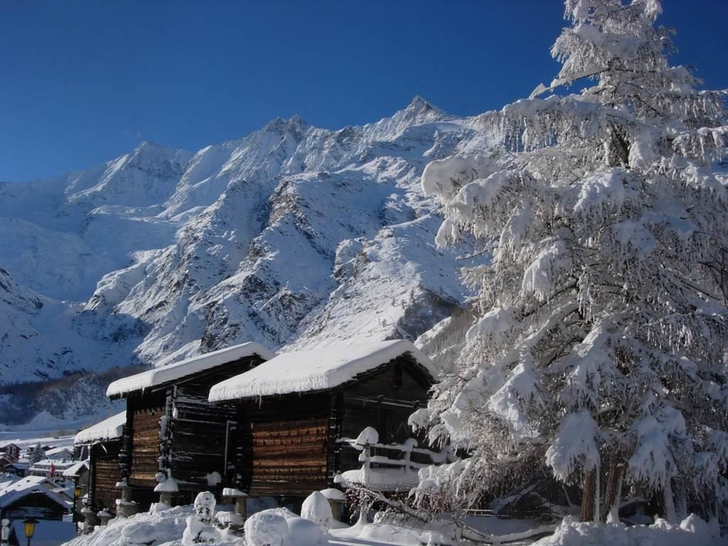 Stadel Saas Fee Winter