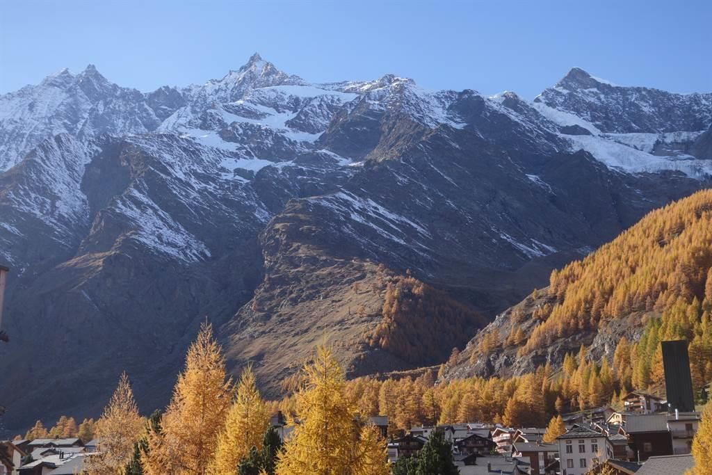 Herbststimmung in Saas Fee