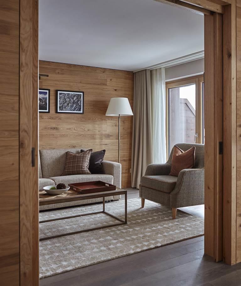 The Capra Suite Living
