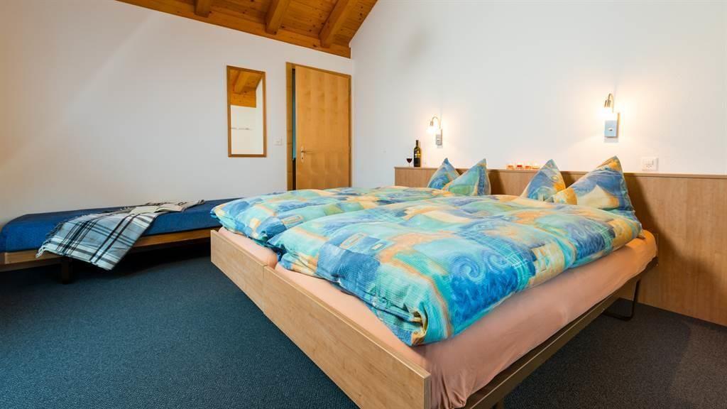 Schlafzimmer 2. Etage mit Zusatzbett