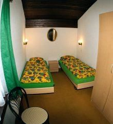 Doppelzimmer grün
