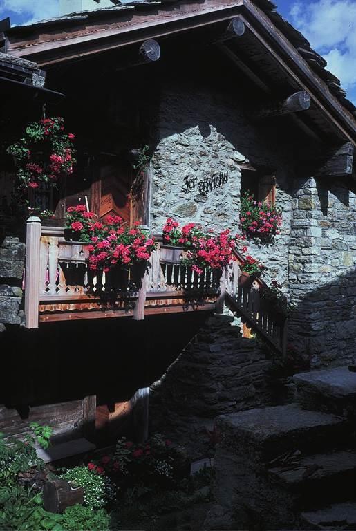 Ferienhäuschen Zer Trächu, Furggstalden, Saas-