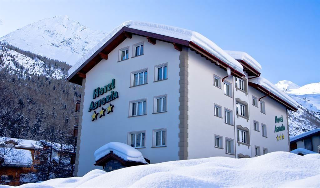 Hotel Astoria Außenblick