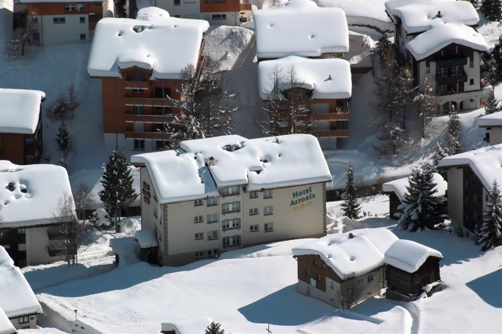 Hotel Astoria von oben