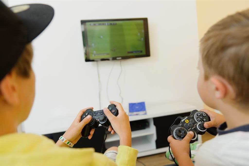 Spielzimmer Videospiele