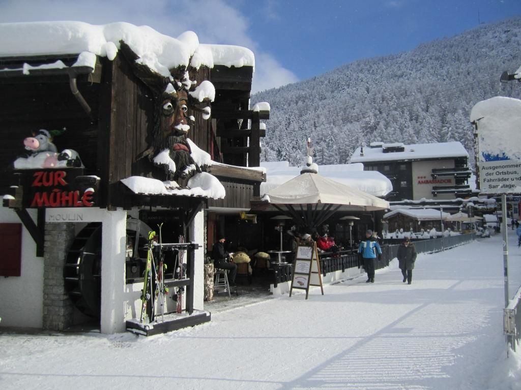 Mühle Winter